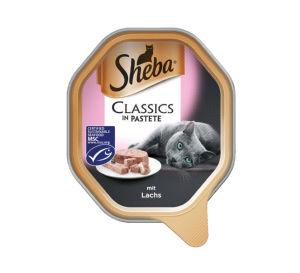 Sheba, losos, 85g