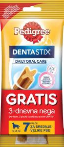 Pedigre dentastick, 180g+3palčke gratis