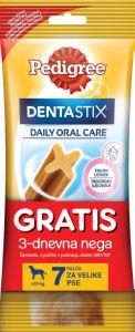 Pedigre dentastick, 270g+3palčke gratis