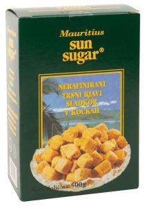 Sladkor Mauritius, rjavi, kocke, 500g