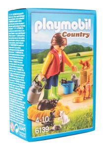 Igrača Playmobil, Žena z mačjo družino