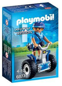 Igrača Playmobil, Policistka na dvokolesniku