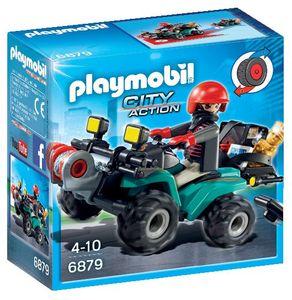 Igrača Playmobil, Roparjev štirikolesnik s plenom