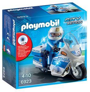 Igrača Playmobil, Policijski motor z lučko