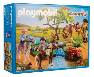 Igrača Playmobil, Jahanje na podeželju