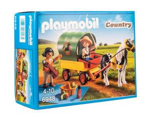 Igrača Playmobil,  Piknik s ponijem in vozom