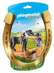 Playmobil Jahač in poni z zvezdicami