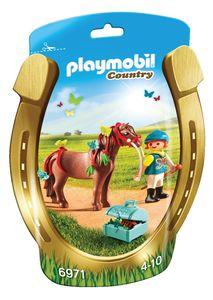 Playmobil Jahač in poni z metuljčki