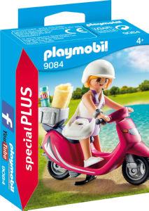 Kocke Playmobil, Obiskovalec plaže s skuterjem, 9084