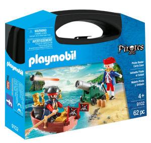 Playmobil kovček, kocke Bitka za zaklad