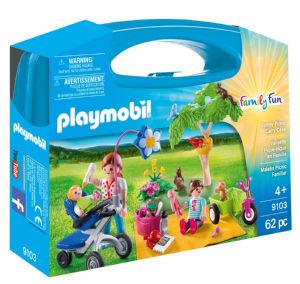 Igrača Playmobil  kovček, Ddružinski piknik