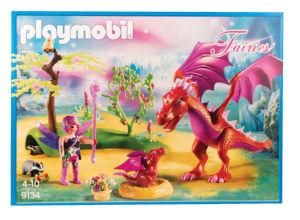 Igrača Playmobil, Prijazni zmaj z mladičem