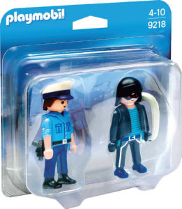 Playmobil Policist in vlomilec