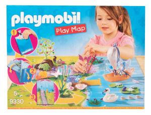 Playmobil igralna podloga, Vilin vrt, vilin čoln pluje