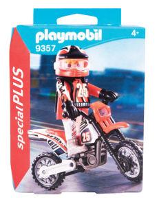 Igrača Playmobil, Voznik motokrosa