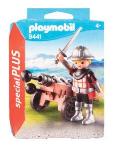 Igrača Playmobil, Vitez s topom