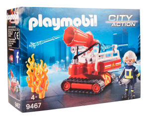 Igrača Playmobil, Gasilski vodni top