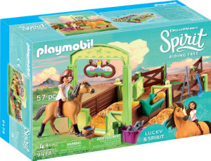 Kocke Playmobil, Ograda za konje Chicalinda, 9478