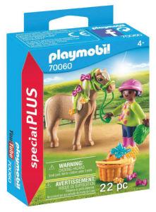 Playmobil Deklica s ponijem