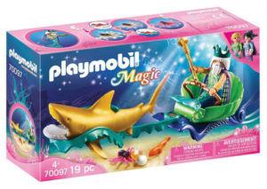 Playmobil Kralj morja skočijo z morskim psom