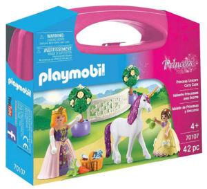 Playmobil Kovček princesa samorog