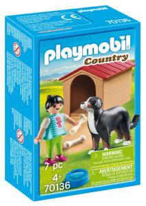 Kocke Playmobil, Pes s pesjakom, 70136