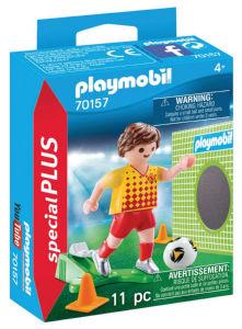 Playmobil Nogometaš z golom