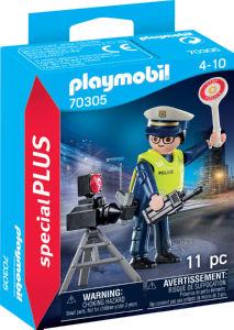 Kocke Playmobil, Policist s hitrostno oviro, 70305