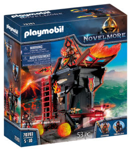 Kocke Playmobil, Burnham raidersi in ognjeni oven 70393