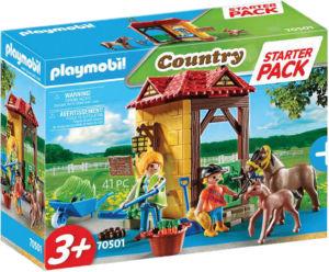 Kocke Playmobil, Začetni set konjska kmetija, 70501