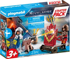 Kocke Playmobil, Začetni set, Novelmore vitezov dvoboj, 70503
