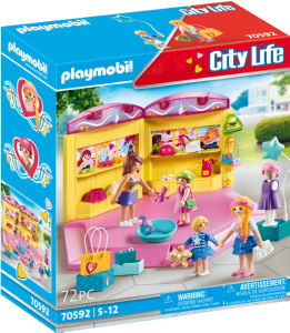 Kocke Playmobil, Otroška modna trgovina, 70592