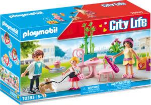 Kocke Playmobil, Sprostitev ob kavi, 70593