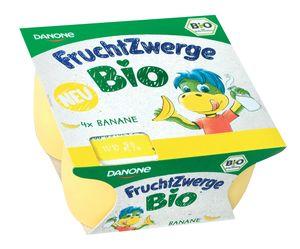Skuta Fruchtzwerge Bio, jagoda, banana, 4x50g