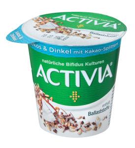 Jogurt Activia, kokos in pira, 150g