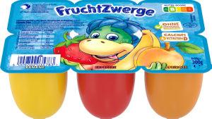 Skuta Fruchtwerge, banana,jagoda,marel., 300g