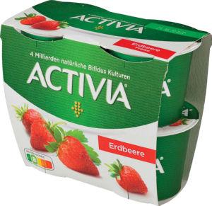 Jogurt Activia jagoda, 4x115g
