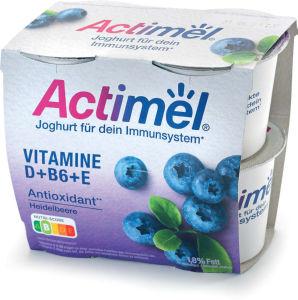Jogurt Actimel, borovnica, 4×115 g