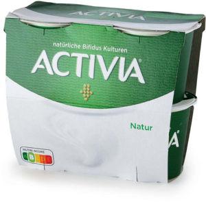 Jogurt Activia navadni, 4x115g
