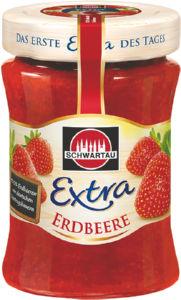 Džem extra Schwartau, jagoda, 340g