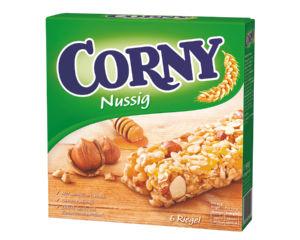 Ploščica Corny lešnik, manjdelj, 150g