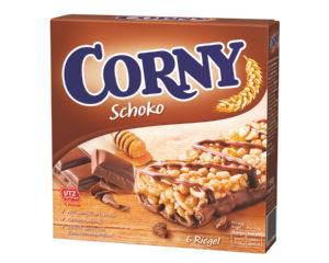 Ploščica Corny z mlečno čokolado, 150g