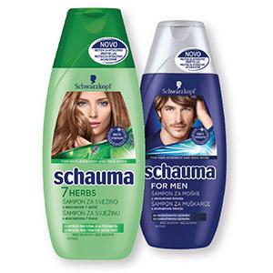 Šampon Schauma, 7 zelišč, 250ml