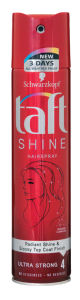 Lak za lase Taft, shine, 250ml