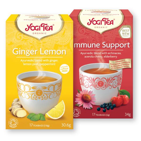 Bio čaj Yogi Tea, več okusov