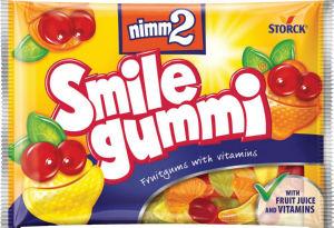 Bonboni Nimm2, soft, sadni z vitamini, 100g