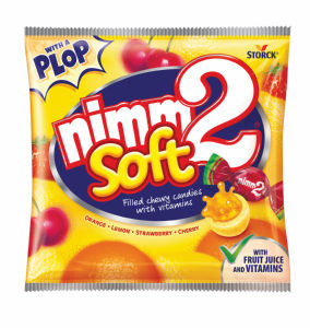 Bonboni Nimm2, soft polnjen, z vitamini, 90g