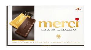 Čokolada Merci, edelbitter, 100g
