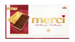 Čokolada Merci, marcipan, 112g