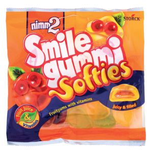 Bonboni Nimm2, softies, fruit mix, 90g